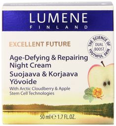 Lumene Excellent Future Age Defying and Repairing Night Cream, 1.7 Fluid Ounce >>> You can find out more details at the link of the image. #beautyandmakeup