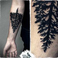 Este imponente pinheiro #tattoo #tattoos #tattooed #inked #tats #ink #tatoo #tat #tattooart #tattooartwork #tattoodesign #tattooartist #tatuagens #tatuagem