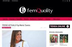 BLOGGER DE LA SEMANA en la revista FEMQUALITY