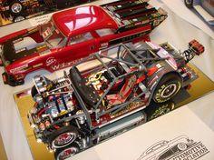 55 Ford race car