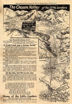 The Chosen Valley of the Little Landers :: San Fernando Valley History