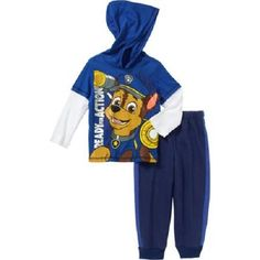 Nickelodeon Paw Patrol Toddler 2pc Pants & Shirt Set Sz 5T  NWT  Warm & Comfy!! #Nickelodeon #Everyday