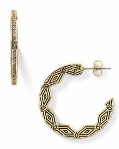 House of Harlow 1960 Macedonian Sunburst Hoop Earrings  Bloomingdale's