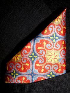 GOLD CATHEDRAL Silk Pocket Square, 100% Silk - by Royal Silk  Royal Silk , http://www.amazon.com/gp/product/B001G8Q6E4/ref=cm_sw_r_pi_alp_CKpHpb15N85E4