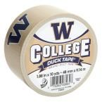Duck College 1-7/8 in. x 30 ft. University of Washington Duct Tape (6-Pack), Multi-Colored