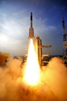 The Indian Space Research Organisation's GSLV-D5 rocket successfully launched GSAT-14 satellite from SDSC SHAR, Sriharikota, India on Jan. 5, 2014.