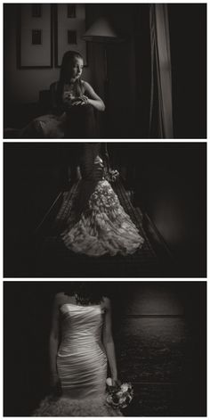 Bride in fishtail dress at Malmaison, Leeds