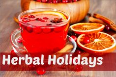 This Herbal Holiday Punch has been a hit in my household for years.  It is so simple to make, it is red (people like red drinks during the holidays) and it is healthy and delicious.  Hibiscus is a cardiovascular tonic, elder flowers help fight off colds and inflammation. Peppermint is the perfect http://livingawareness.com/healthy-herbal-holiday-punch/