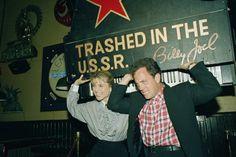 Billy Joel and Christie Brinkley in the U.S.S.R.