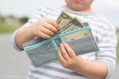 Boys Bifold Wallet | Make It and Love It