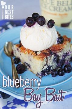 Blueberry Boy Bait from Our Best Bites