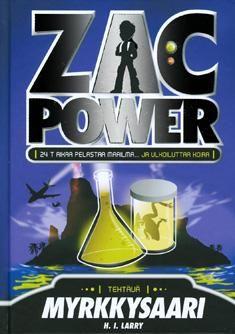 Zac Power Sarja Zac Power Power Island