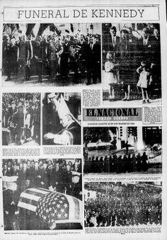 Funeral de Kennedy. Publicado el 26 de noviembre de 1963.