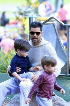 Pity, Ricky martin twin sons time become