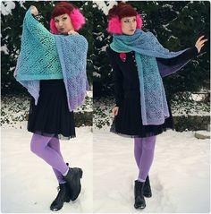 Crochet Brooch, Crochet Shawl, Vagabond Shoes, Shoes Handmade, Black Milk Clothing, Patterned Tights, Jacket Brands, Harajuku Fashion, Winter Looks