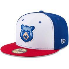 Tennessee Smokies New Era Home Authentic Collection On-Field Fitted Hat - White La Dodgers Cap, New Era Homes, Tennessee Smokies, Best Caps, Funny Hats, New Era 59fifty, New Era Cap, Workout Accessories, Fitted Caps
