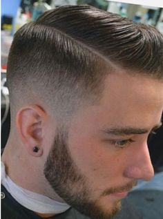 Corte de cabello fade largo