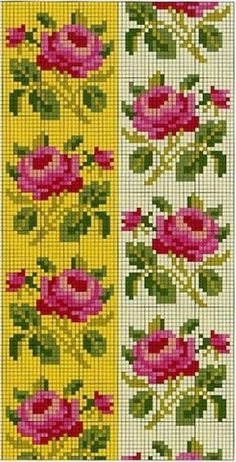 1 million+ Stunning Free Images to Use Anywhere Cross Stitch Rose, Cross Stitch Borders, Cross Stitch Flowers, Cross Stitch Charts, Cross Stitch Designs, Cross Stitch Embroidery, Hand Embroidery, Cross Stitch Patterns, Embroidery Designs