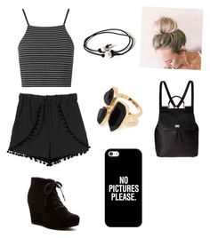 """"""""""" by ponyboysgirlfriend ❤ liked on Polyvore featuring Topshop, Rampage, Dolce&Gabbana, Joie, River Island and Casetify"""