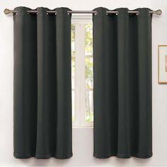 Vcny McKenzie Blackout Curtain, Grey