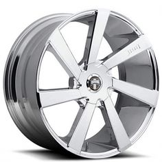 """22"""" Dub Wheels Directa S132 Chrome Rims"""