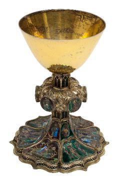 Chalice from Strasbourg, ca 1360