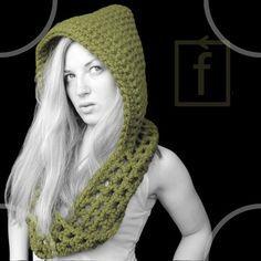 crochet+hooded+scarf+pattern+free   Free Crochet Hooded Scarf Pattern   Free Easy Crochet Patterns Free ...