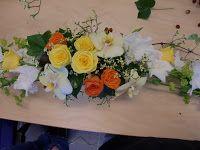 Bilderesultat for borddekorasjon bryllup runde bord blomster Floral Wedding Gown, Slit Wedding Dress, Perfect Wedding Dress, Designer Wedding Dresses, Next Dresses, Glamorous Dresses, Traditional Wedding Dresses, Lace Design, Bridal Looks