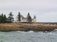 Winter Harbor Lighthouse in Maine