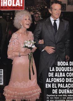La tercera boda de Cayetana con Alfonso Diez