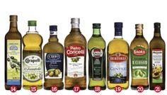 Test olio extravergine di Altroconsumo, in testa Agride e Monini, penalizzati Bertolli, Sasso, Coricelli, Cirio, Sagra e Almaverde