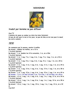Amigurumi Tutorial, Amigurumi Patterns, Amigurumi Doll, Amigurumi For Beginners, Knitted Teddy Bear, Lucet, Preemie Babies, Diy Crochet, Hand Knitting