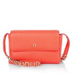 Aigner Tasche – Abby XS Mini Crossbody Bag Coral Red – in rot – Umhängetasche für Damen