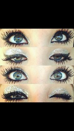 Somebody needs to learn how to do this so we can have huge fake lashes for comp