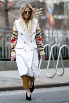 Pin for Later: Retour Sur les Meilleurs Looks Street Style de la Fashion Week de New York Jour 2