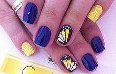 Diseños de uñas a la moda actual, diseño de uñas a la moda vestir.  Follow! #uñasdemoda #instanails #uñassencillas
