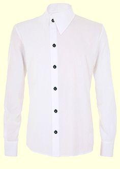 Retroscope Men's Gothic Clothing - Gothic Aristocrat Point Collar Shirt.