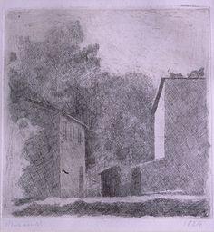 Giorgio Morandi, Landscape Chiesanuova