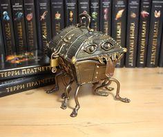 Terry Pratchett's The Luggage.