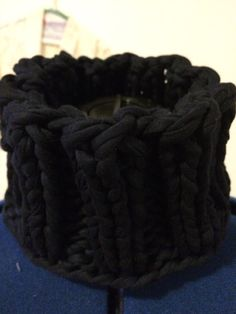 Cowl knitted