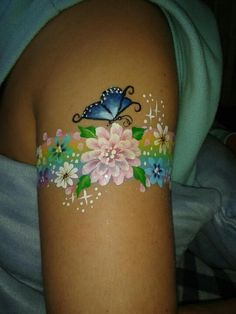 face painting ideas for kids Face Painting Images, Face Painting Flowers, Face Painting Tips, Butterfly Face Paint, Girl Face Painting, Leg Painting, Belly Painting, Face Painting Designs, Painting For Kids