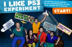 The I Like PS3 Experiment by Naked Communications Cph