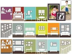 Creating fantastic ideas for creating gallery wall home decor is the goal of every home owner when they set up their living space. One of the ways to . Frames On Wall, Wall Collage, Blank Wall Solutions, Living Room Decor On A Budget, White Wall Decor, Accent Wall Bedroom, Vintage Bathrooms, Scandinavian Interior Design, Living Room Pictures