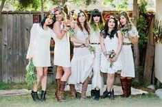 Bohemian Backyard Bridal Shower Inspiration