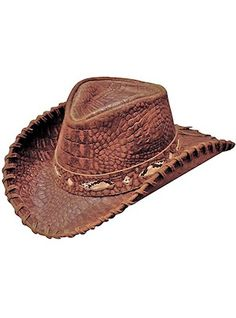 4a264db3d7bbb Men s Hats Leather Hats Western Hats
