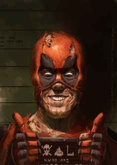 #Deadpool #Fan #Art. (Deadpool) By: Kenneth Solis. ÅWESOMENESS!!!™ ÅÅÅ+