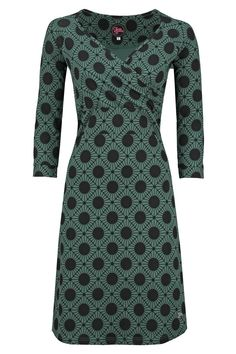 Dress Lemonade Stardot Green