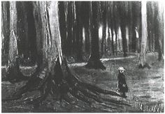 off Hand made oil painting reproduction of Girl in the Woods, one of the most famous paintings by Vincent Van Gogh. The painting Girl in the Woods is one of Vincent Van Gogh's earlier works, completed in It is reminiscent of h. Van Gogh Drawings, Van Gogh Paintings, Post Impressionism, Impressionist, Vincent Van Gogh Pinturas, Arte Van Gogh, Gardner Museum, Art Van, Soul Art