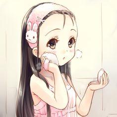 anime, cute, and kawaii image Art Kawaii, Kawaii Chibi, Cute Chibi, Kawaii Anime Girl, Kawaii Shop, Anime Bebe, Moe Anime, Manga Anime, Anime Art