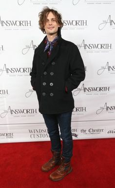 January 24th - Matthew Gray Gubler at the Ainsworth Football Viewing Party powered by Paige Hospitality in Park City, Utah